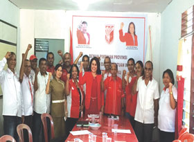 Jaring Ulang Bacaleg, PKPI Ambon Targetkan 4 Kursi di Pileg