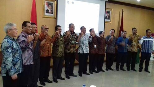 KPK Tawarkan 9 Fokus Korsupgah Kepada KADA di Maluku