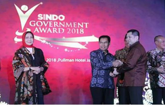 Ketiga Kalinya, Ambon Raih Penghargaan Sindo Weekly Government Award 2018