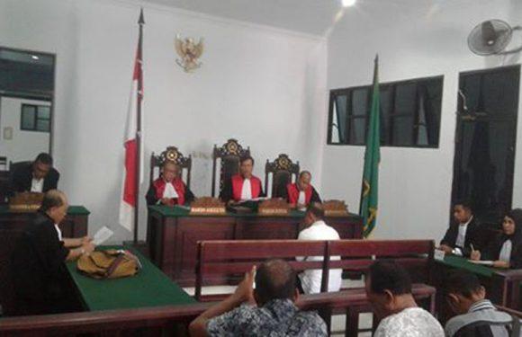 Membawa Kayu Ilegal,Tajir Musiba Diganjar Empat Tahun Penjara