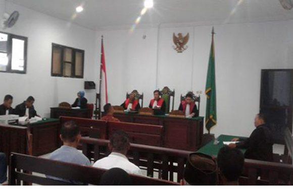 Oknum Pendamping DD Kilwuri Dituntut 1,6 Bulan Penjara