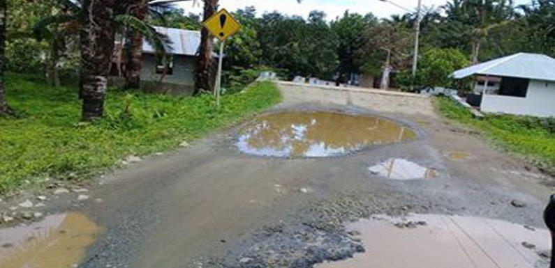 PUPR Diminta Perbaiki Jalan Rusak di Leitisel