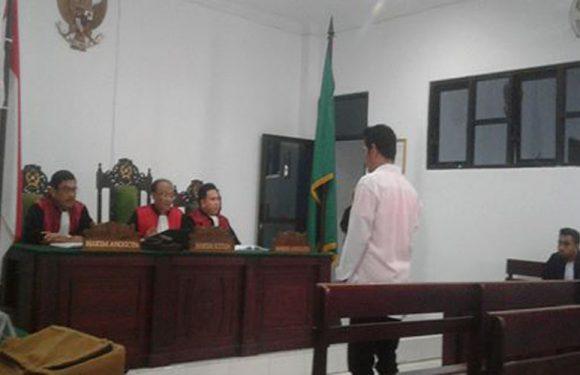 Jual Narkoba, Pemuda Talake Divonis Tujuh Tahun Penjara