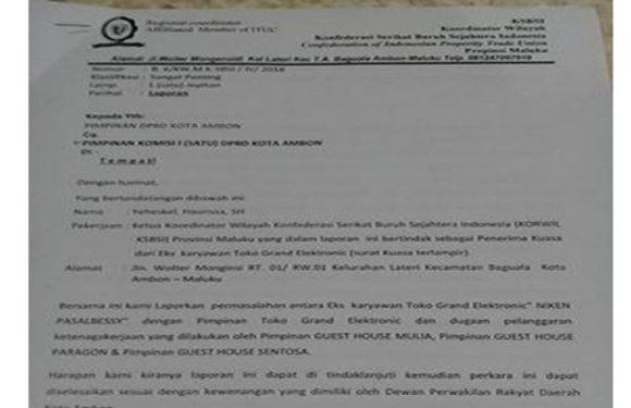 KSBSI Duga Ketua Komisi I DPRD Terindikasi Makelar