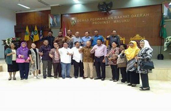 Bamus DKI Jakarta Sambangi DPRD Maluku