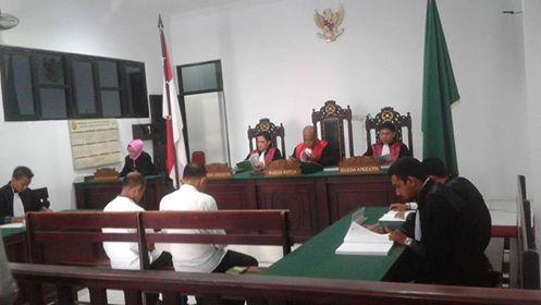 Korupsi Dana BOS SMA Dua Namlea,PH Minta Hakim Vonis Ringan