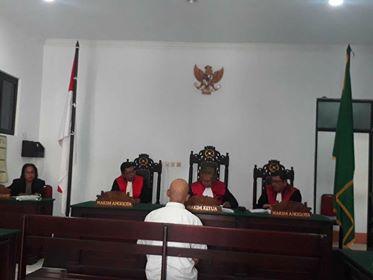 Ambil Barkoba  Di PT. Pos Banda Neira,Teuku Asril Divonis 4 Tahun Penjara