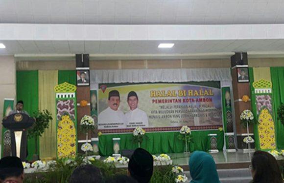 Halal Bil Halal, Wujudkan Ambon Harmonis & Religius