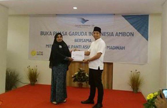 Garuda Indonesia Gelar Buka Puasa Bersama Anak Panti Asuhan Al-Madinah