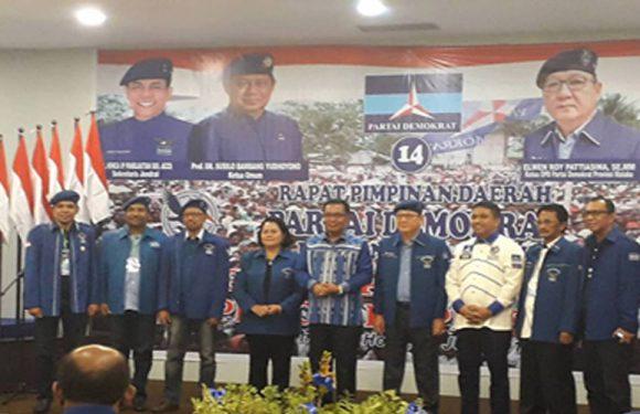 Sukseskan Pilgub, Demokrat Maluku Lakukan Rapimda