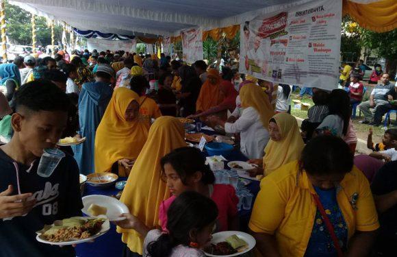 Enam Titik Makan Patita & Kepantasan SANTUN Menang Pilgub