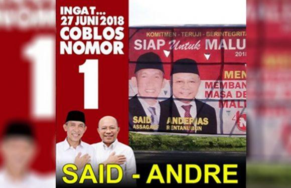 Assagaff-Rentanubun Ajak Masyarakat Maluku Sambangi TPS