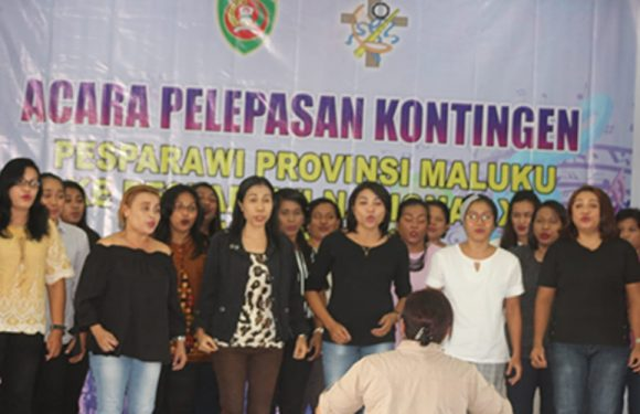Lepas Kontingen Pesparawi, Gubernur Harapkan Tampil Optimal