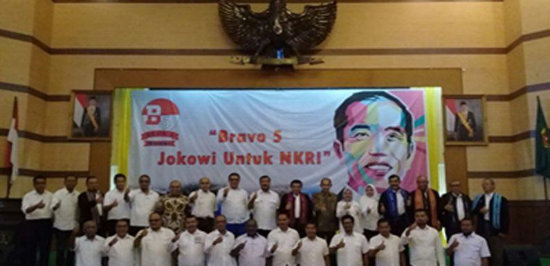 AT Pimpin Bravo 5 Maluku Jokowi Untuk NKRI