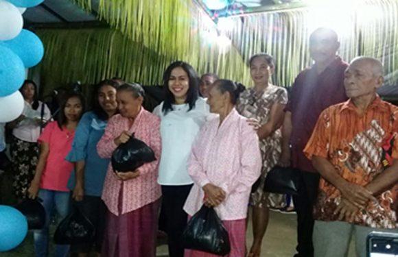 Rayakan HUT, JMS Badonci & Berbagi Dengan Warga Hatalai
