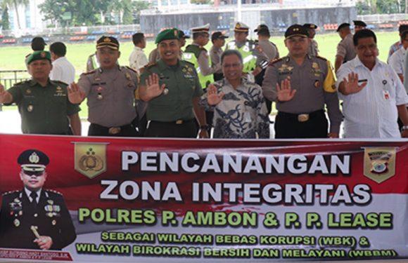 Apel 3 Pilar Kamtibmas & Pencanangan Zona Integritas WBK-WBBM