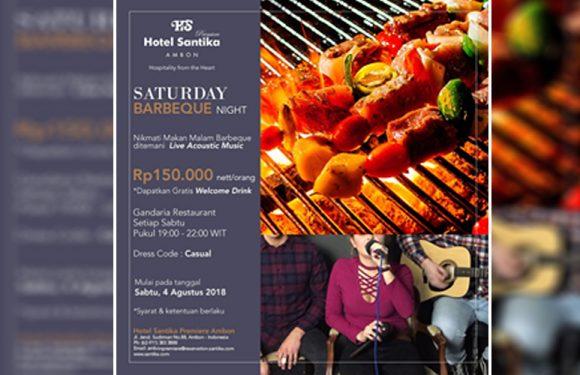 Saturday Barbeque Night Ala Hotel Santika Premiere Ambon