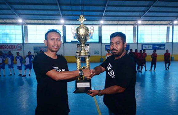 24 Tim Ikuti Tournament Futsal KNPI Maluku