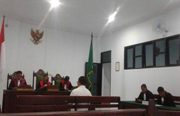 Terbukti Korupsi, Zadrak Ayal Divonis 1,2 Tahun Penjara