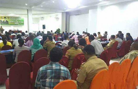 Pelatihan Peningkatan Kapasitas BPD & Saniri Negeri Oleh DP3AMD