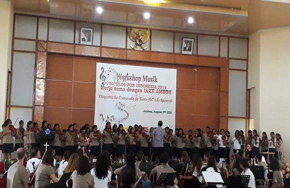 OCAS Gelar Workshop Musik di lAKN Ambon