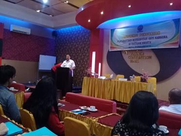 Penguatan Wawasan Anti Narkoba, BNNP Maluku Sasar Swasta