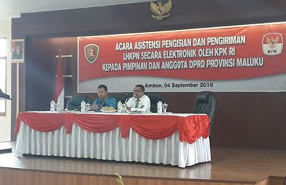 Kepatuhan LHKPN Anggota DPRD di Maluku Rendah