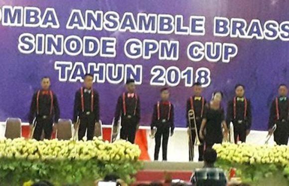 Jemaat GPM Hallong Juara Ansamble Brass 2018