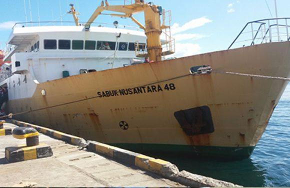 Pelni Ambon Tunggu Instruksi Pusat, Docking Sanus 48