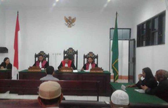 Koruptor ADD Kelang Assaude,  Divonis Tiga Tahun Penjara