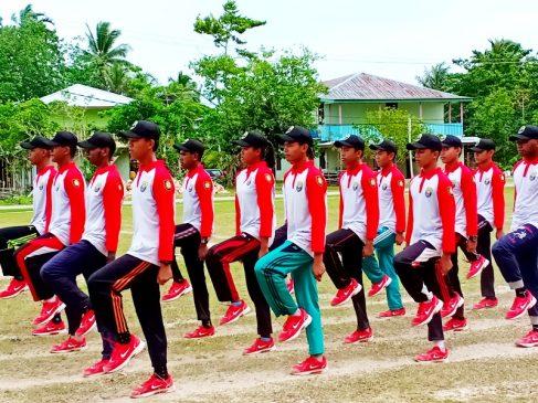 Latihan Paskibra & Pasukan Kontingen Pesparani Intens Dilakukan