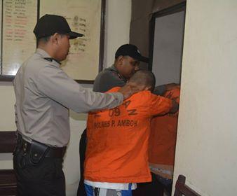Diduga Begal, Rohama Binaan Caleg DPRD Maluku Dibekuk