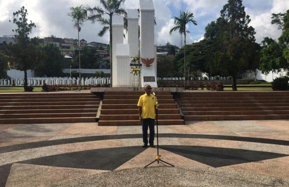 Rayakan HUT, Golkar Maluku & Kota Ambon Ziarah ke TMP