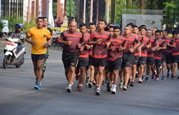 Bina Fisik, Korem 151/Binaiya Lari Aerobik Keliling Kota