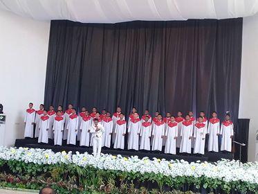Jawa Barat Jadi Grup Penutup Kategori Gregorian Dewasa