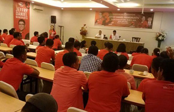 Mantapkan Pemenangan di Pileg, JDW Bekali Para Relawan