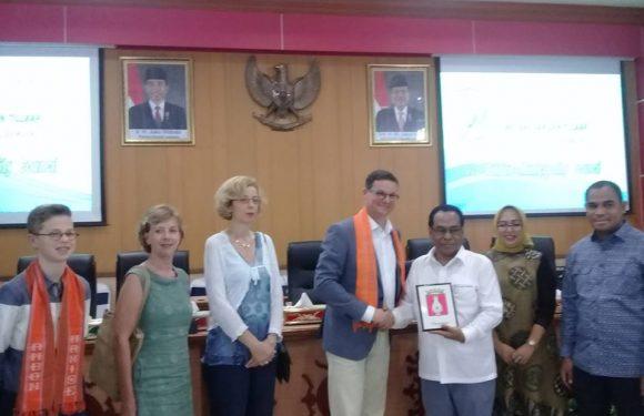 Terima Walikota Vlissingen, DPRD Harap Kerjasama Ditingkatkan
