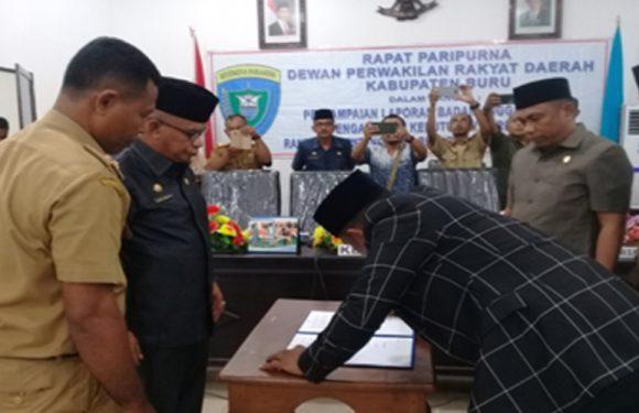 Paripurna Perubahan APBD 2018 Kabupaten Buru Resmi Dibuka Ketua DPRD.