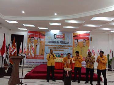 Konsolidasi Caleg, Hanura Maluku Target Menangi Pileg