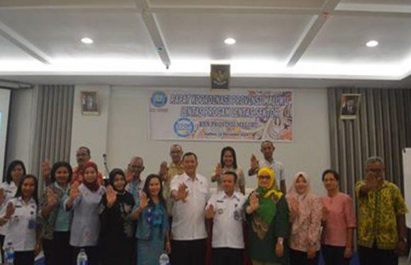 BNNP Maluku Gelar Rakor Lintas Sektor