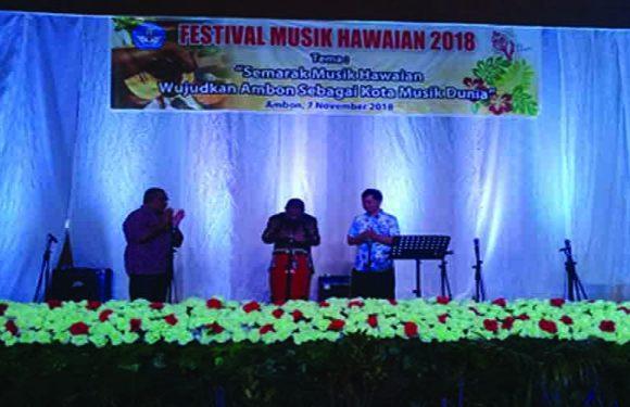 Hawaiian Harus Jadi Jati Diri Musik di Ambon