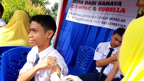 Dinkes: Imunisasi MR Bagi FA Sesuai SOP & Keluhan