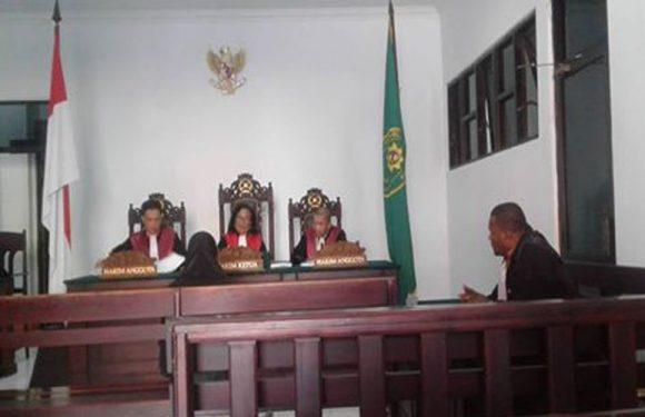 Koruptor Dana Pemilihan dan Pelantikan Kades Se-Kota Tual Divonis 1,6 Tahun Penjara