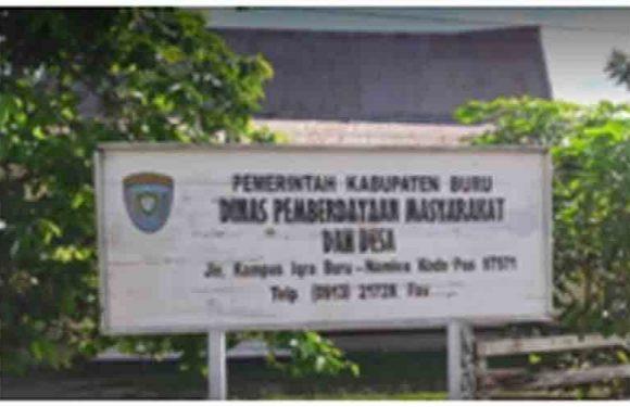 DPMD Kabupaten Buru Verifikasi P2KTD
