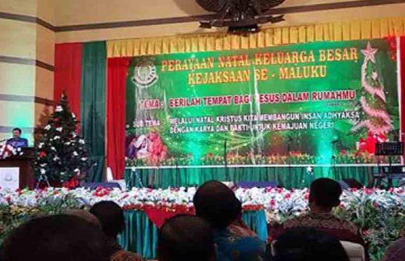 Kejati Harapkan Natal Jadi Momen Pemersatu Warga Korps Adhyaksa Se-Maluku
