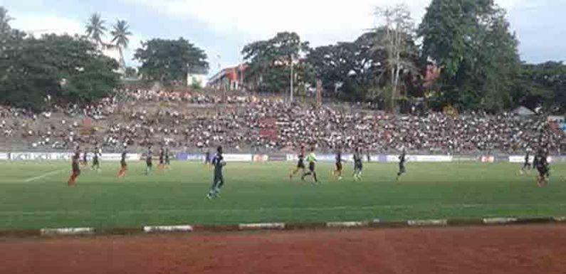 Persipura Bungkam Pelauw Putra 2-0