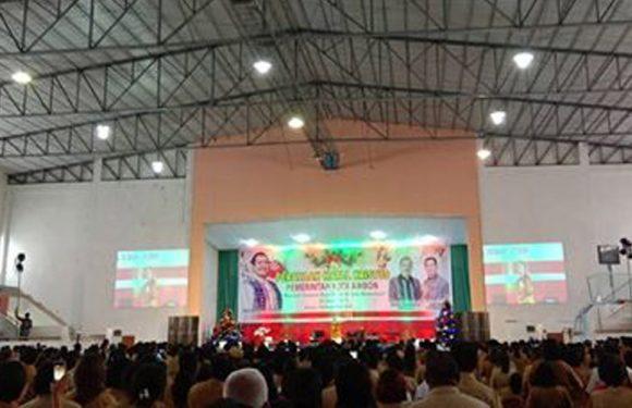 Pendeta Gilbert Tekankan Tiga Hal di Natal Pemkot Ambon