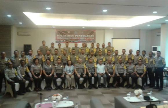 40 Personil Bhabinkamtibmas Polres Ambon Ikut Pelatihan