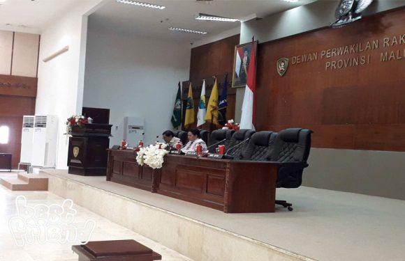 16 Buah Ranperda Disetujui DPRD Maluku