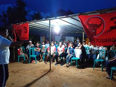 Temui Warga Halong, JDW Pertegas Siapapun Berhak Bangun Maluku